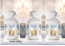 17 bulk white Country Western Candle holder Lantern Wedding