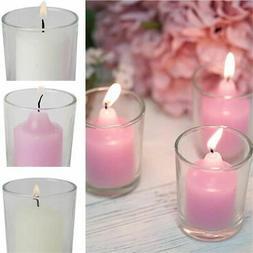 12 pcs round votive tealight candles