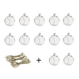 80MM Hanging Tealight <font><b>Holder</b></font> Glass Globe