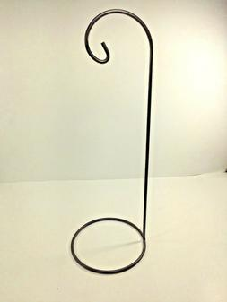 "14"" Metal Tabletop Hanging Candle / Tea Light / Ornament / S"