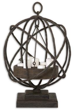 Uttermost 17059 Accents Home Decor Candle Holders tural Wood