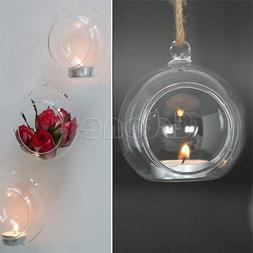 1PCS <font><b>CLEAR</b></font> HANGING GLASS BAUBLES BALL <f