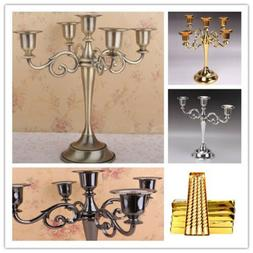 3/5 Arms  Alloy Candle Metal Crafts Candelabra Holder Stand