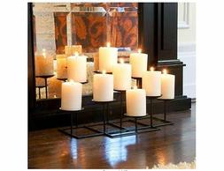 9 candle holder candelabra tabletop home decor
