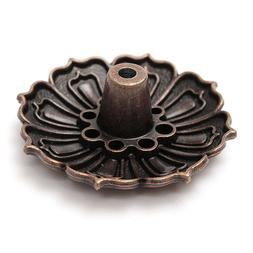 9 Holes Seat Flower Statue Cone Incense <font><b>Holder</b><