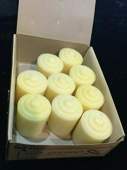 9  PEPPERMINT TWIST  Votive Candles VINTAGE with Candle Hold