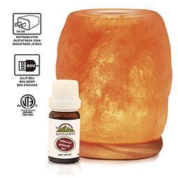 Himalayan Glow 942BC Natural Aroma Therapy Salt Lamp with Ne