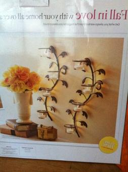 Better Homes and Gardens Vine and Leaf Tealight Wall Sconces