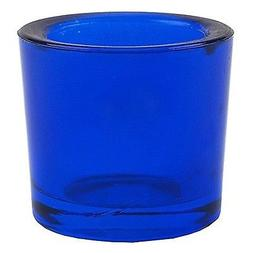 Bluecorn Beeswax Heavy Glass Votive and Tea Light Candle Hol