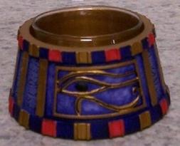 Candle Tealight Votive Holder Egyptian Wedjat Eye of Horus N