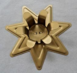 "Gold Fairy Star Candle Holder for 6"" x 3/4"" Candles"