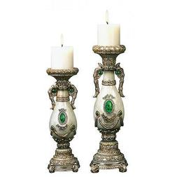 Home Decor Accessories  JADED ACCESSORIES CANDLE HOLDER SET