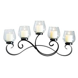 Joveco Candelabra Candle Holders, Hold 5 Candles