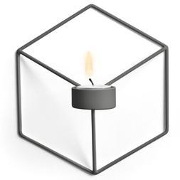 Menu POV Wall Candleholder, Warm Grey