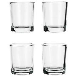 NEW IKEA votive candle holder, clear glass decoration holder