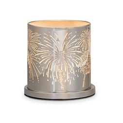 PartyLite Enchanted Celebration Candle Holder With Fireworks