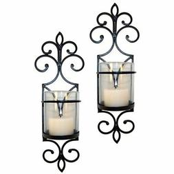 Pomeroy Pentaro Candle Holder Sconce Wall Lighting - Set of