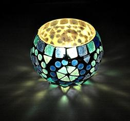 Table Decorative Tea Light Candle Holder Glass 3 Inches
