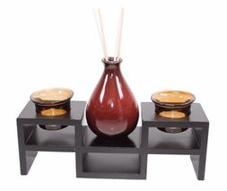Tabletop Tea light Candle & Incense Holder Home Decor Relaxi