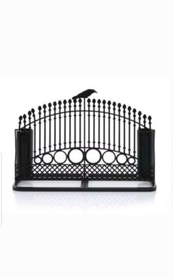 Yankee Candle Ravens Night Gate Double Taper Candle Holder H