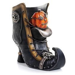 Yankee Candle Steam Punkin Boot Jar Holder - Decorative Pump