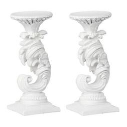 A&B Home 76914 Mermaid 10 X 4 inch Candle Holder, Set of 2