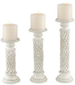 Universal Lighting and Decor St. Albans Antique White Pillar