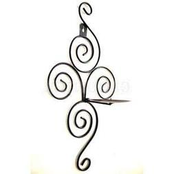 Farmerly Antique Metal Iron Wall Mounted Sconce Tealight Can