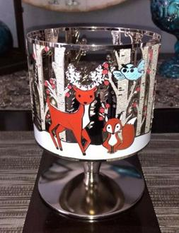 Bath And Body Works Candle Holder, Stand Sleeve Deer Forrest