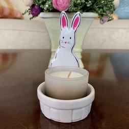 BATH & BODY WORKS EASTER BUNNY CERAMIC MINI CANDLE HOLDER SP