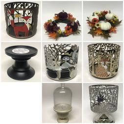 Bath & Body Works Fall Halloween Candle Holders << CHOOSE >>