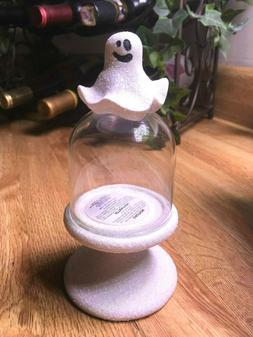 Bath & Body Works Halloween GHOST Mini Candle Dome Ceramic C