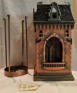 Bath And Body Works Halloween Haunted House Luminary 3 Wick