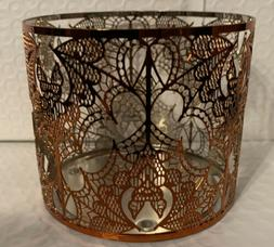 Bath And Body Works Halloween Lace 3-wick Candle Holder
