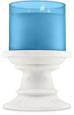 Bath & Body Works MARBLE PEDESTAL 3-Wick Candle Holder