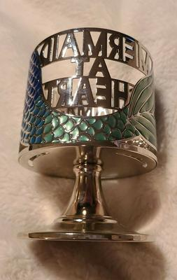 """Bath & Body Works """"Mermaid at Heart"""" 3-Wick Candle Holder"""