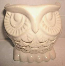 Bath & Body Works mini 1.3 oz Candle Holder Ceramic Owl