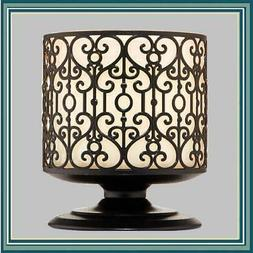 Bath & Body Works ORNATE HEART PEDESTAL 3-Wick Candle Holder
