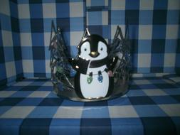 Bath and Body Works Penguin 3-Wick Candle Holder
