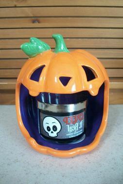 Bath & Body Works Pumpkin Jack-O-Lantern Mini Candle Holder