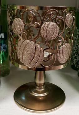bath and body works shimmer pumpkin pedestal