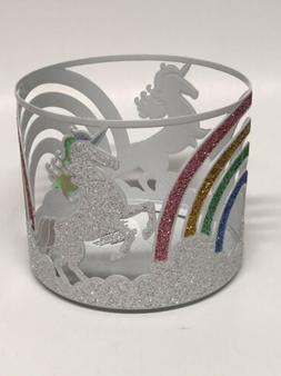 Bath & Body Works Unicorn Rainbow Metal Candle Holder Sleeve