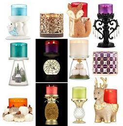 Bath & Body Works White Barn Candle Holder HTF NWT *U Choose