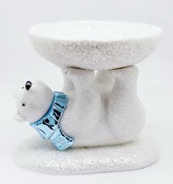 Bath & Body Works WHITE POLAR BEAR PEDESTAL 3-Wick Large Can