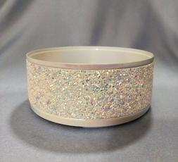 BATH BODY WORKS GLITTER SPARKLING LARGE 3 WICK CANDLE HOLDER