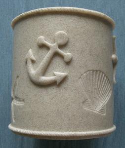 Yankee Candle Beach Shell Coastal Sands Large Candle Holder