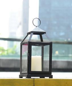 Black Decorative Candle Lanterns  Metal Candle holder Weddin