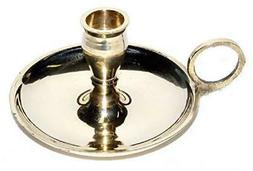 "Brass Chime Candlestick Candle Holder for 1/2"" Diamater Cand"