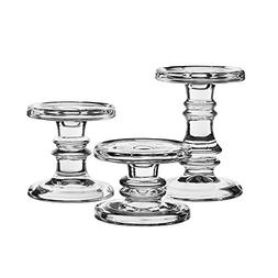 CYS EXCEL Candle Holder Set for Pillar and Taper Candles Set