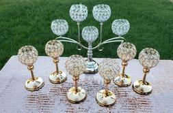 Candle holder set of 7